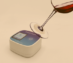 digitally record of visitor's favorite products; new technological feature for wine events